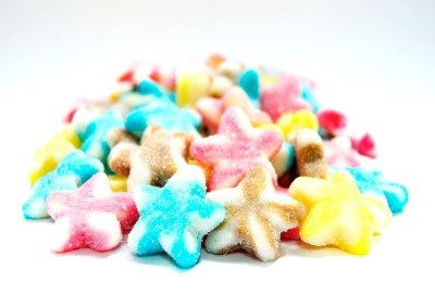 Sour Twist Stars Assorted